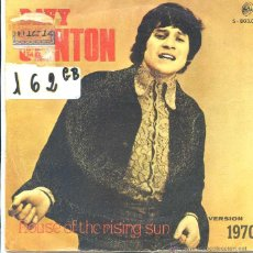 Discos de vinilo: DAVY CLINTON / HOUSE OF THE RISING SUN / ON A ROOFTOP IN MENPHIS (SINGLE 1970). Lote 50570492