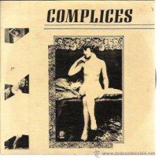 Discos de vinilo: COMPLICES SG DISCOS MEDICINALES 1986 PROMO TELEPASION/ LES MOGUDES DE LA DIPU INTERTERROR AFTER PUNK. Lote 50570696