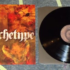 Discos de vinilo: WARCHETYPE - LORD OF THE CAVE WORM - LP [ALONE RECORDS, 2009] DOOM METAL. Lote 50570799