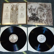 Discos de vinilo: NUNSLAUGHTER - THE DEVILS CONGERIES - VOLUME 1 - 2XLP [HELLS HEADBANGERS, 2013] DEATH METAL. Lote 50570968