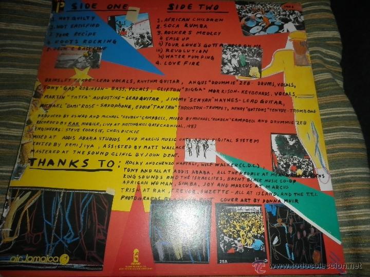 Discos de vinilo: ASWAD - LIVE AND DIRECT LP - ORIGINAL INGLES - ISLAND RECORDS 1983 - STEREO - - Foto 13 - 269262738