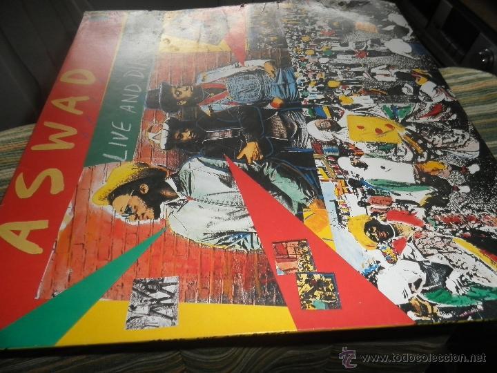 Discos de vinilo: ASWAD - LIVE AND DIRECT LP - ORIGINAL INGLES - ISLAND RECORDS 1983 - STEREO - - Foto 17 - 269262738