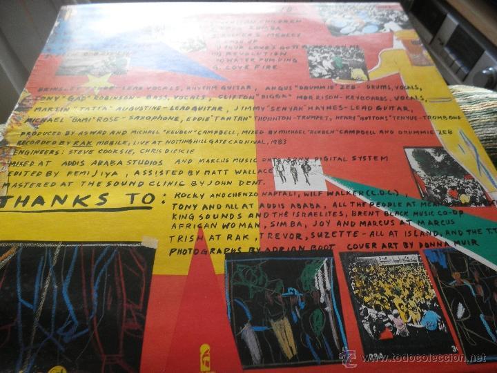 Discos de vinilo: ASWAD - LIVE AND DIRECT LP - ORIGINAL INGLES - ISLAND RECORDS 1983 - STEREO - - Foto 18 - 269262738
