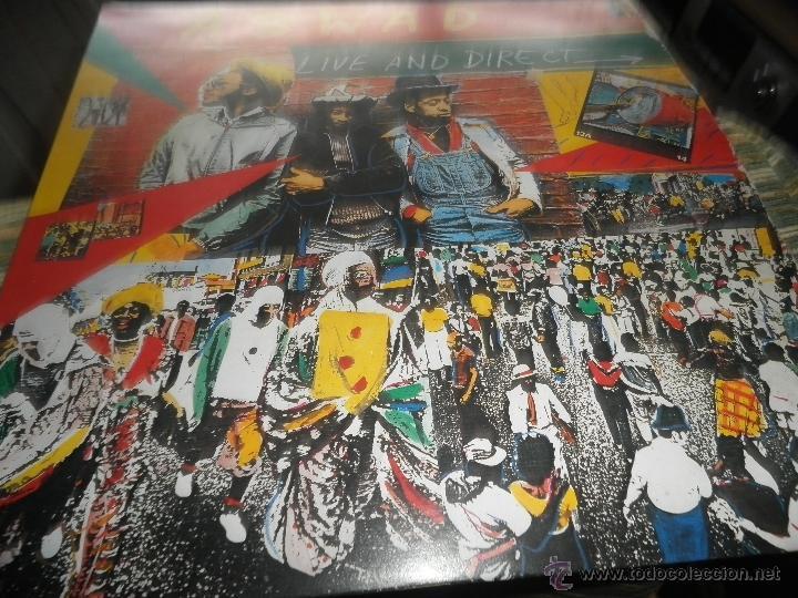 Discos de vinilo: ASWAD - LIVE AND DIRECT LP - ORIGINAL INGLES - ISLAND RECORDS 1983 - STEREO - - Foto 19 - 269262738