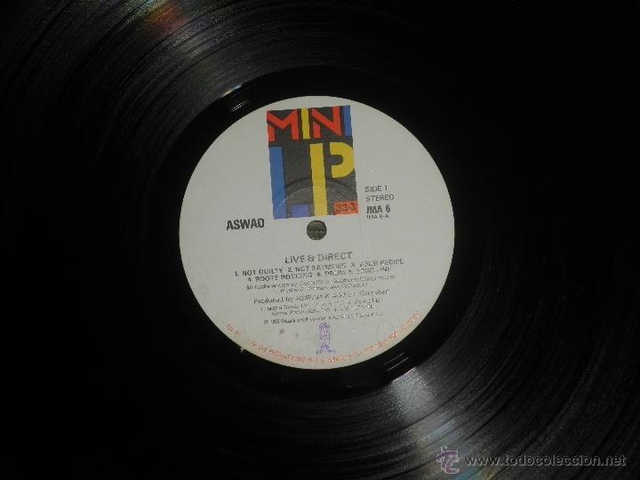 Discos de vinilo: ASWAD - LIVE AND DIRECT LP - ORIGINAL INGLES - ISLAND RECORDS 1983 - STEREO - - Foto 3 - 269262738