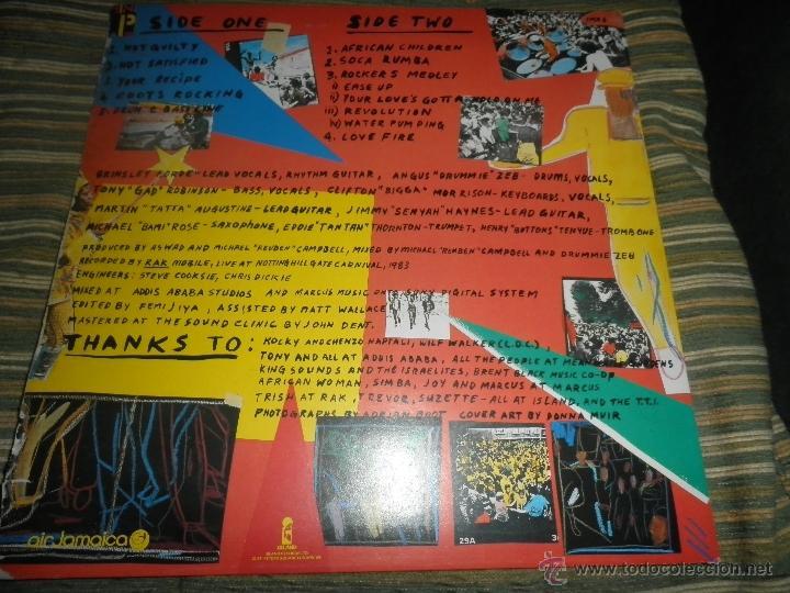 Discos de vinilo: ASWAD - LIVE AND DIRECT LP - ORIGINAL INGLES - ISLAND RECORDS 1983 - STEREO - - Foto 11 - 269262738