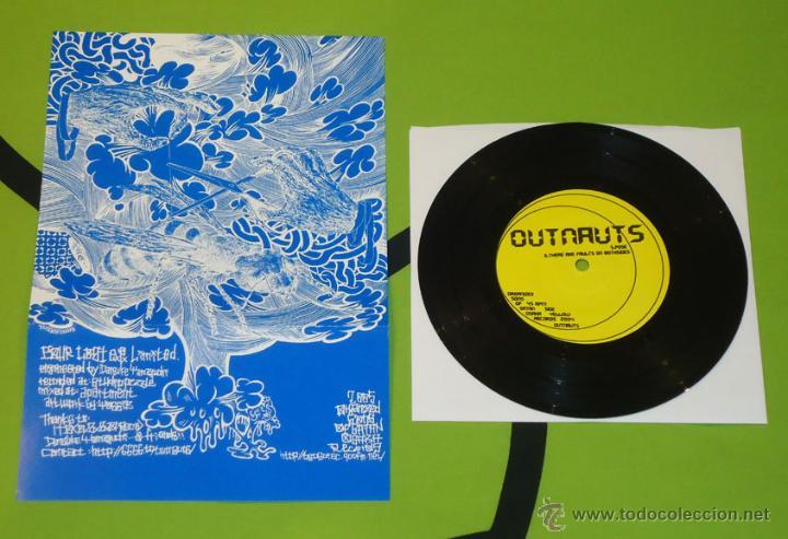 OUTNAUTS - FOUR LOST - 7'' [ORGANIZED SONS OF SATAN OSAKA RECORDS, 2005] (Música - Discos de Vinilo - EPs - Punk - Hard Core)