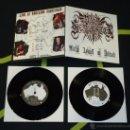 Discos de vinilo: NUNSLAUGHTER – METAL ASSAULT ON ADELAIDE - DOBLE 7''. Lote 50572532