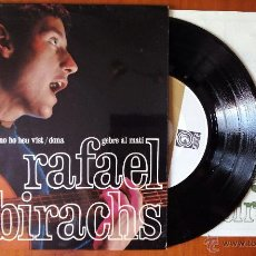 Discos de vinilo: RAFAEL SUBIRACHS, NO HO HEU VIST +3 (CONCENTRIC 1967) SINGLE EP + LLETRES - GEBRE AL MATI DONA. Lote 50573201