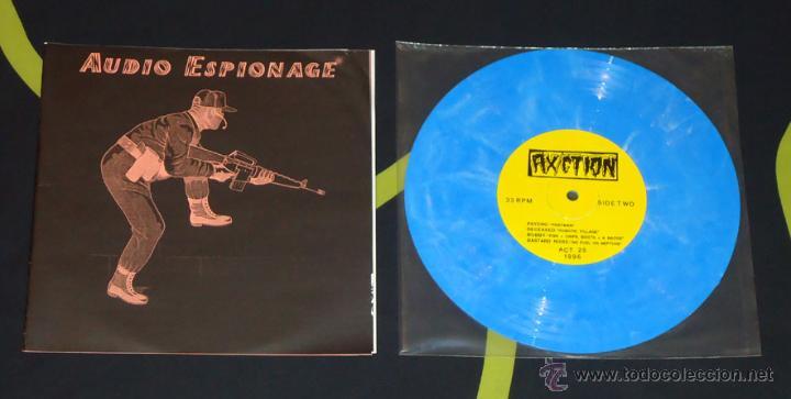 VV.AA. - AUDIO ESPIONAGE - 8'' [BASTARD NOISE, DECEASED, GONKULATOR, PSYCHO...] (Música - Discos de Vinilo - EPs - Punk - Hard Core)
