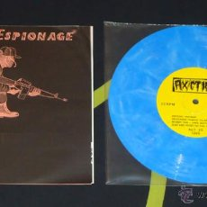 Discos de vinilo: VV.AA. - AUDIO ESPIONAGE - 8'' [BASTARD NOISE, DECEASED, GONKULATOR, PSYCHO...]. Lote 50574989