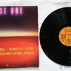 Discos de vinilo: VARIOS (JOHN MCLAUGHLIN, PAULINHO DA COSTA, JOE FARRELL, LENNY WHITE, L CORYELL..) - FUSE ONE (1981). Lote 50578888