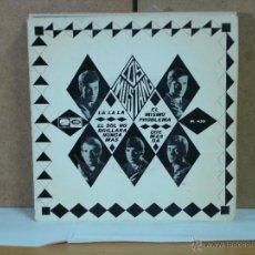 Discos de vinilo: LOS MUSTANG - LA LA LA / EL SOL NO BRILLARA NUNCA MAS / EL MISMO PROBLEMA / QUE MAS DA - 1966. Lote 50582318