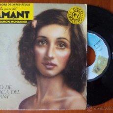 Discos de vinilo: RAMON MUNTANER, CANÇO DE LA PLAÇA DEL DIAMANT (BELTER 1982) SINGLE PROMOCIONAL. Lote 50583332