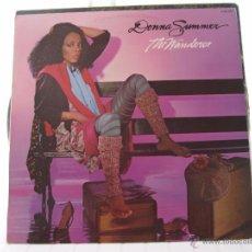 Discos de vinilo: DONNA SUMMER THE WANDERER. Lote 50584436