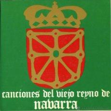 Discos de vinilo: CANCIONES DEL VIEJO REINO DE NAVARRA. CORAL DE CÁMARA JUAN DE LA ENCINA. PABLO GIMÉNEZ, CARMINA TRUA. Lote 50584652