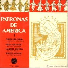 Discos de vinilo: PATRONAS DE AMERICA. LUISA DE CÓRDOBA, JAIME SANTOS, JORGE CARDOSO. IRMA VILA. Lote 50584884