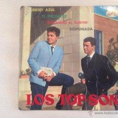 Discos de vinilo: LOS TOP SON - EP JERSEY AZUL + 3 1964 BRUNO LOMAS. Lote 50585140