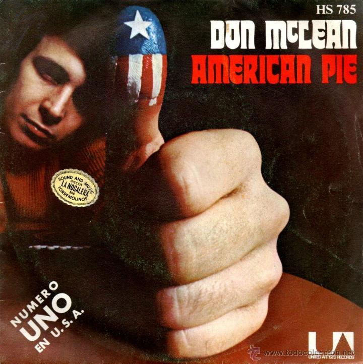 Sn Don Mclean American Pie Con El Pitido Que Vendido En