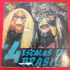 Discos de vinilo: 4 ESCALAS EN BRASIL (RECIFE, RIO, BAHIA, SAO PAULO). Lote 50596501