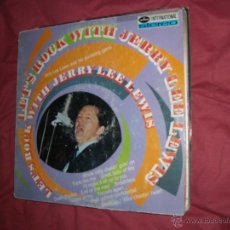Discos de vinilo: JERRY LEE LEWIS AND HIS PUMPING PIANO LP LET'S ROCK WITH JERRY LEE - MERCURY HOL. Lote 50599011