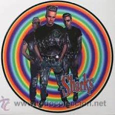 Discos de vinilo: THE SHARKS - RUFF STUFF IN PLASTIC ( LP VINILO PICTURE DISC 1997 ) PSYCHOBILLY. Lote 159503772