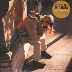 Discos de vinilo: NIRVANA LP AT THE END OF LONELY STREET VINILO MUY RARO COLECCIONISTA LIVE. Lote 50656914