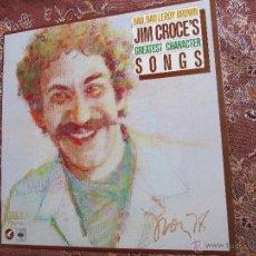 Discos de vinilo: JIM CROCE LP DE VINILO- TITULO BAD, BAD LEROY BROWN JIM CROCE'S GREATEST CHARACTER SONG- ORIGINAL 78. Lote 50605253