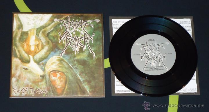 PLAGUE BEARER - RISE OF THE GOAT (Música - Discos de Vinilo - EPs - Heavy - Metal)