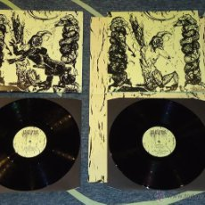 Discos de vinilo: ANTEDILUVIAN - WATCHERS' REIGN - 2XLP [IRON BONEHEAD, 2013 · VINILO NEGRO · LIM. 400] DEATH METAL. Lote 50607513