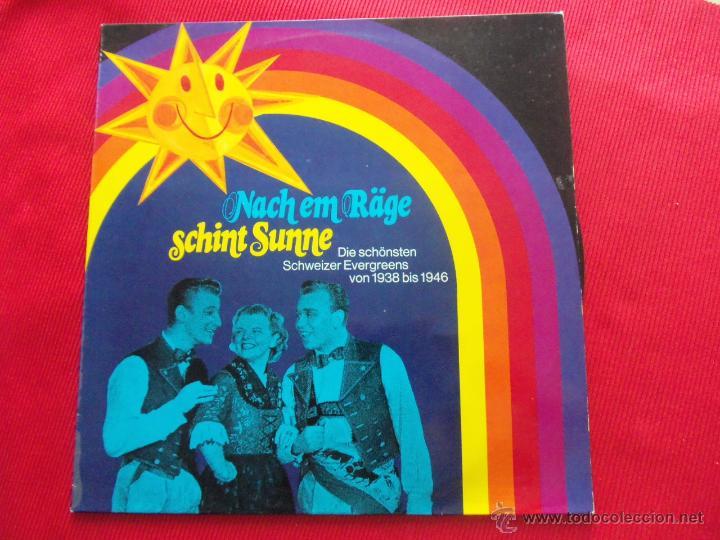 NACH EM RÄGE . SCHINT SUNNE (Música - Discos - LP Vinilo - Jazz, Jazz-Rock, Blues y R&B)