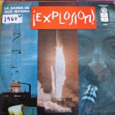 Discos de vinilo: LP - GUS BIVONA Y SU BANDA - EXPLOSION (SPAIN, WARNER BROS RECORDS 1963). Lote 50609825