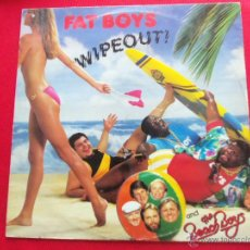 Discos de vinilo: FAT BOYS - WIPEOUT!. Lote 50609977
