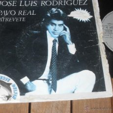 Discos de vinilo: JOSE LUIS RODRÍGUEZ SINGLE. PAVO REAL. MADE IN SPAIN. 1981. Lote 50611427