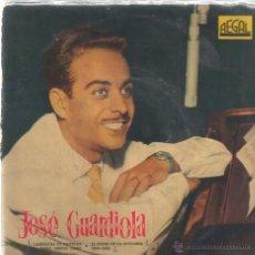 Discos de vinilo: EP JOSE GUARDIOLA - CAMPANAS DE NAVIDAD. Lote 50613435