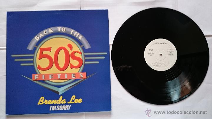BRENDA LEE-I'M SORRY+BILL HALEY-ROCK AROUND THE CLOCK+CRICKETS-GREAT BALLS OF FIRE (MAXI PROMO 92) (Música - Discos de Vinilo - Maxi Singles - Pop - Rock Internacional de los 50 y 60)