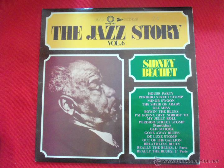 SIDNEY BECHET - THE JAZZ STORY VOL.6 (Música - Discos - LP Vinilo - Jazz, Jazz-Rock, Blues y R&B)