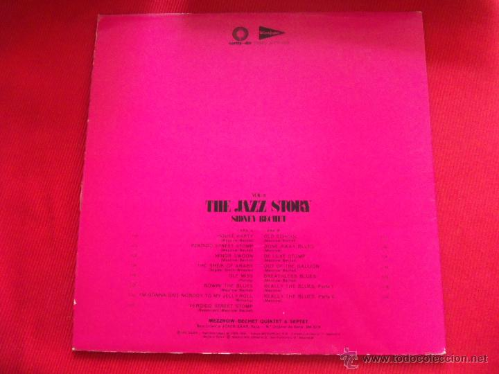 Discos de vinilo: SIDNEY BECHET - THE JAZZ STORY VOL.6 - Foto 2 - 50622699