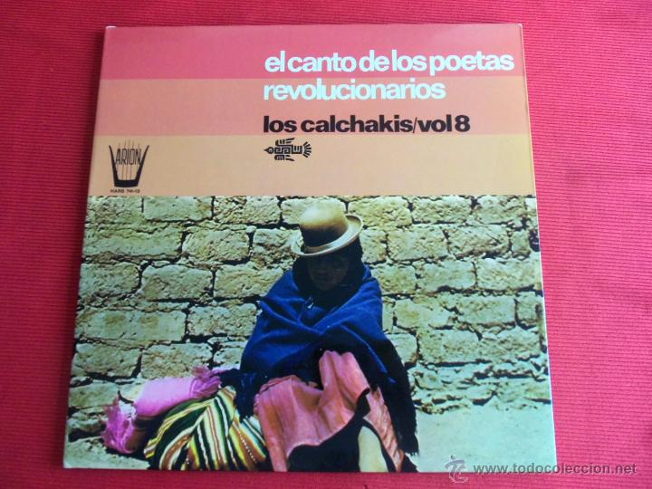 EL CANTO DE LOS POETAS REVOLUCIONARIOS - LOS CALCHAKIS VOL.8 (Música - Discos - LP Vinilo - Cantautores Extranjeros)