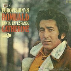 Discos de vinilo: ROUMALD CANTA EN ESPAÑOL SINGLE SELLO HISPAVOX AÑO 1969 FESTIVAL DE EUROVISION EDITADO EN ESPAÑA. Lote 50630867