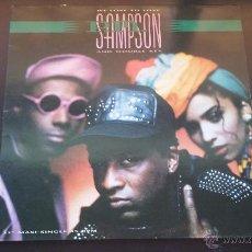 Discos de vinilo: P.M. SAMPSON & DOUBLE KEY - WE LOVE TO LOVE - 1990. Lote 50631266