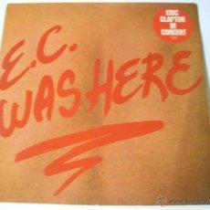 Disques de vinyle: ERIC CLAPTON - E. C. WAS HERE - SF D2. Lote 50631270