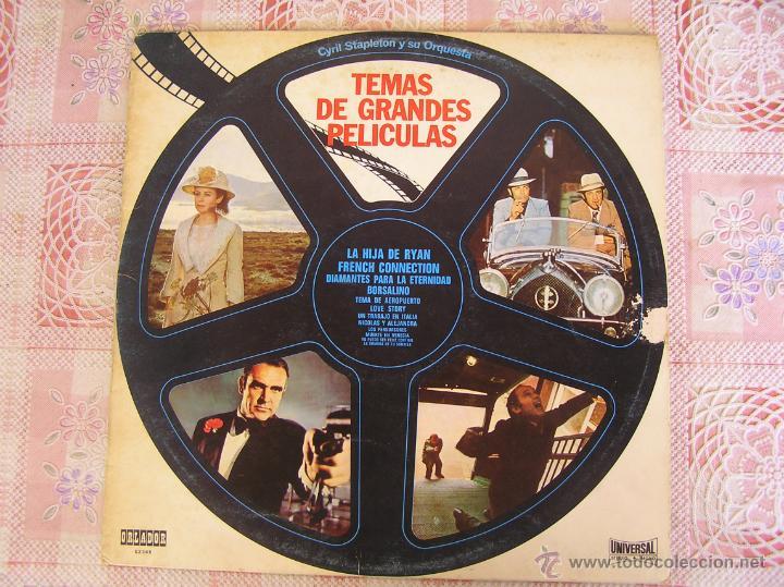 CYRIL STAPLETON Y SU ORQUESTA - TEMAS DE GRANDES PELICULAS - 1972 (Música - Discos - LP Vinilo - Orquestas)