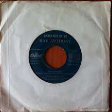 Discos de vinilo: RAY ANTHONY, SMASH HITS OF '63 (CAPITOL 1963 ?) SINGLE EP ESPAÑA - MEDITATION DAYS OF WINE AND ROSES. Lote 50632835