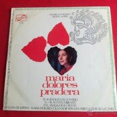 Discos de vinilo: MARIA DOLORES PRADERA - AMARGA NAVIDAD NEGRA MARIA. Lote 50635877