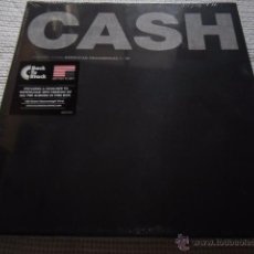 Discos de vinilo: JOHNNY CASH - '' AMERICAN RECORDINGS I - VI '' 7 LP 180GR BOX SET EU SEALED. Lote 50636333