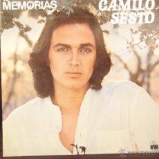Discos de vinilo: CAMILO SESTO MEMORIAS 1976 DOBLE PORTADA. Lote 50636370