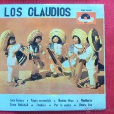 Discos de vinilo: LOS CLAUDIOS - LUNA LUNERA. Lote 50636953