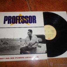 Discos de vinilo: PROFESSOR HOY NO ME PUEDO LEVANTAR VERSION DE MECANO POP - RAP HIP HOP MAXI SINGLE VINILO MUY RARO. Lote 50637006