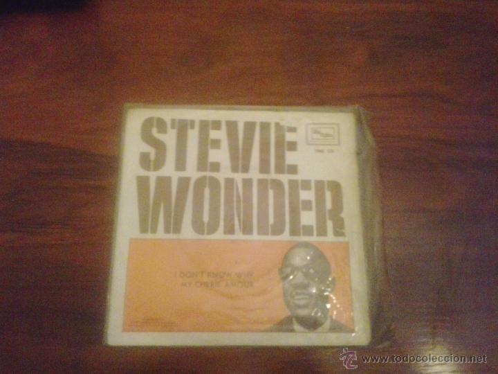 STEVE WONDER (Música - Discos - Singles Vinilo - Pop - Rock Extranjero de los 50 y 60)